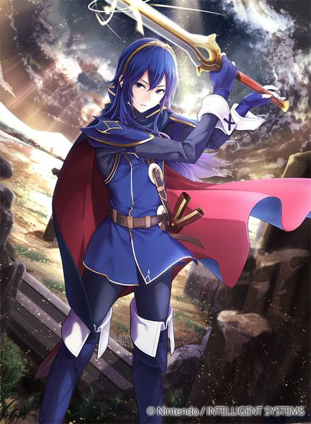 Fire Emblem Cipher - Lucina ファルシオンを継ぐ姫 ルキナ
