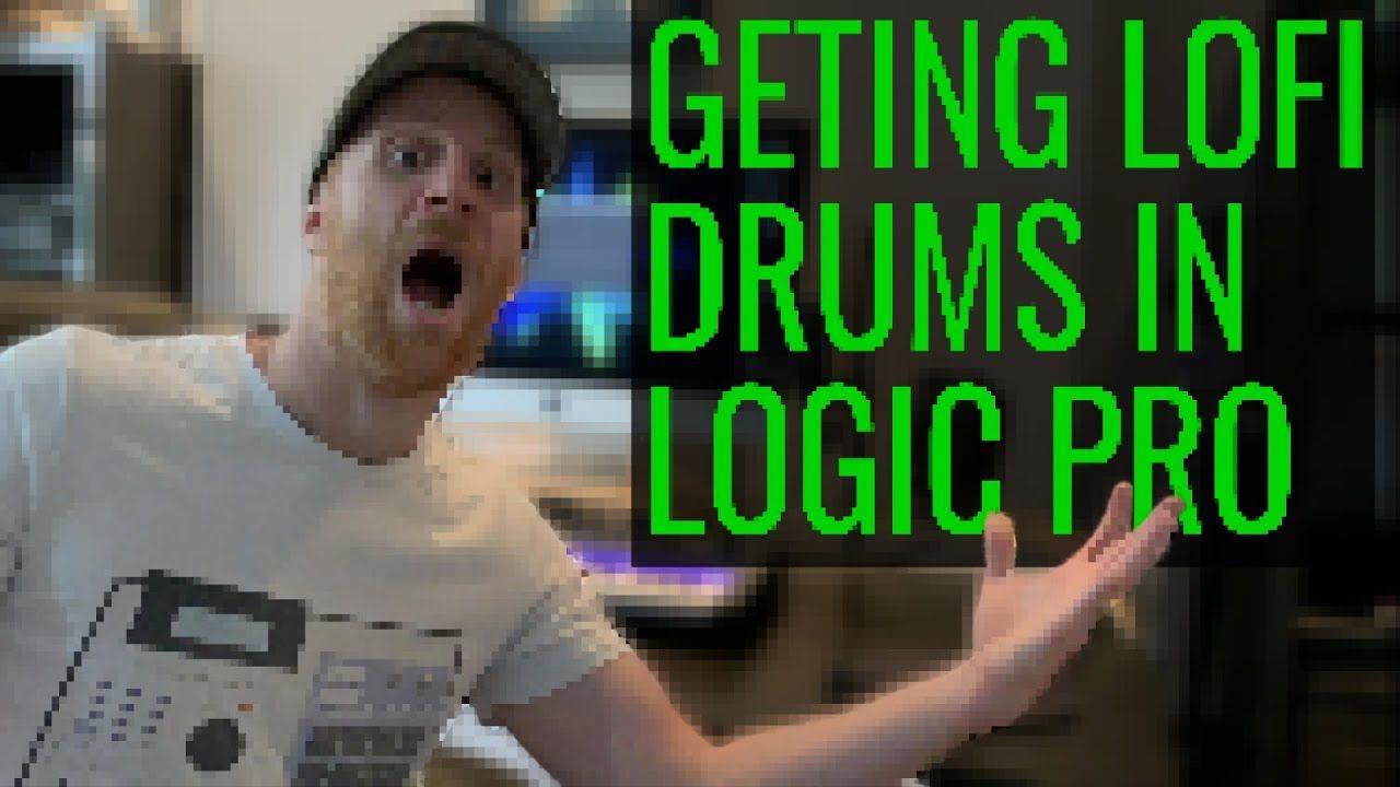 Logic Pro X Lofi Drums 3 Quick Methods For Lofi Drum Sounds Https Youtu Be T70lhvqpqow Logic Pro X Logic Pro Music Tutorials