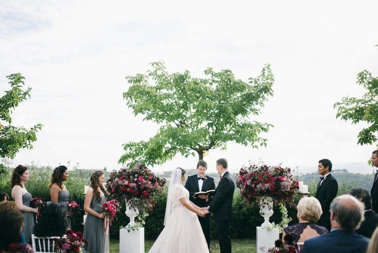 Tuscan Dream Wedding   Fly Away Bride