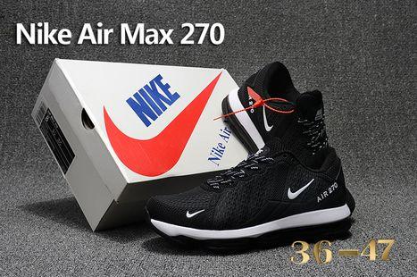 Nike Air Max Flair 270 Noir Blanc nikeonlinestore