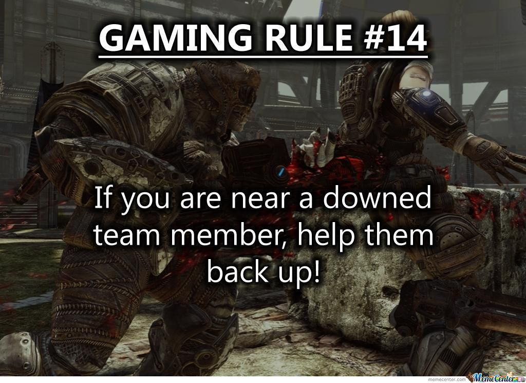 Gaming Rule 14 Gaming Rules Video Games Funny Video Game Quotes
