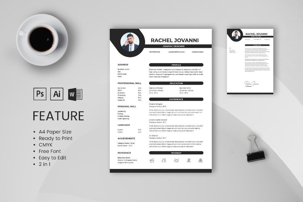 Cv Resume Graphic Designer Profile 11 Di 2020