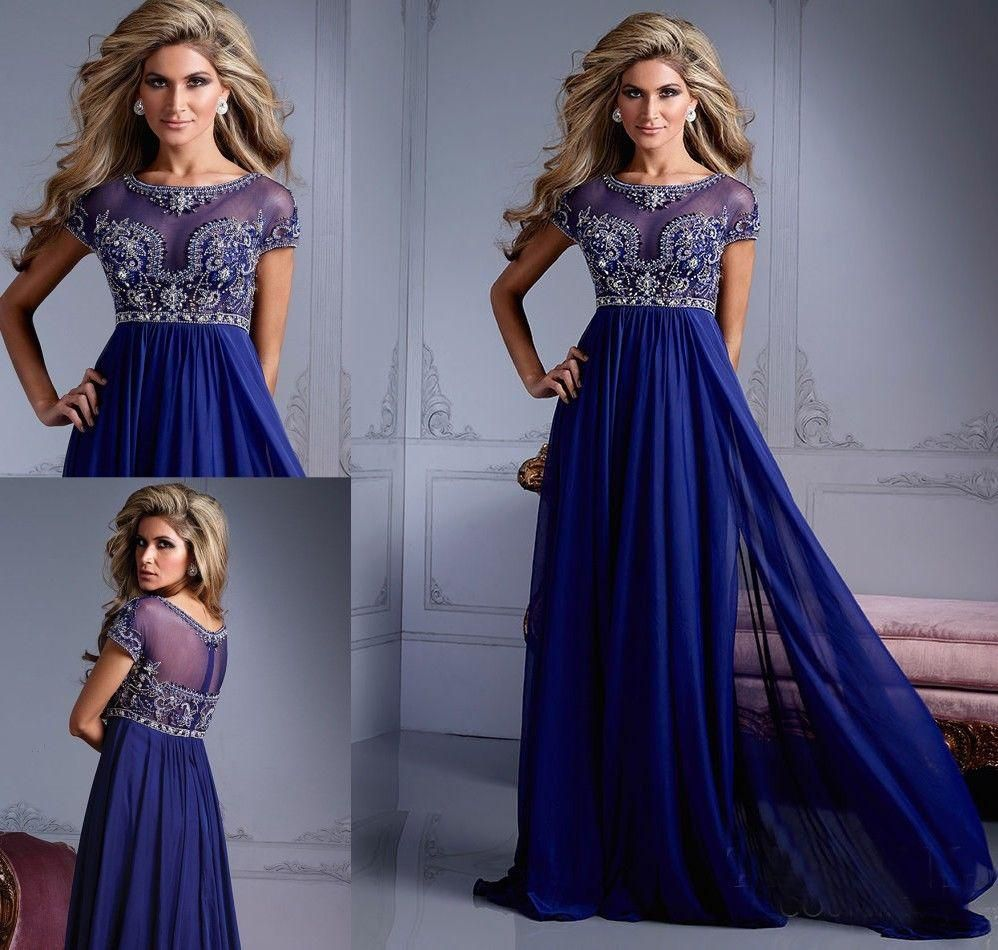Prom dresses sheathcolumn beading illusion scoop neck floor length