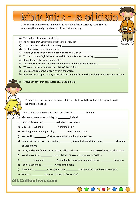 Definite Articles Reading Comprehension Kindergarten Reading Comprehension Reading [ 1440 x 1018 Pixel ]