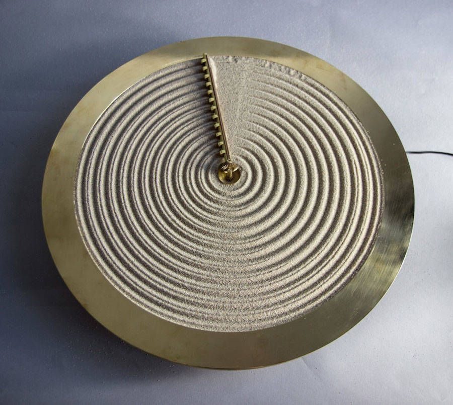Clocks inspiration The Poetic Sand Clock by
