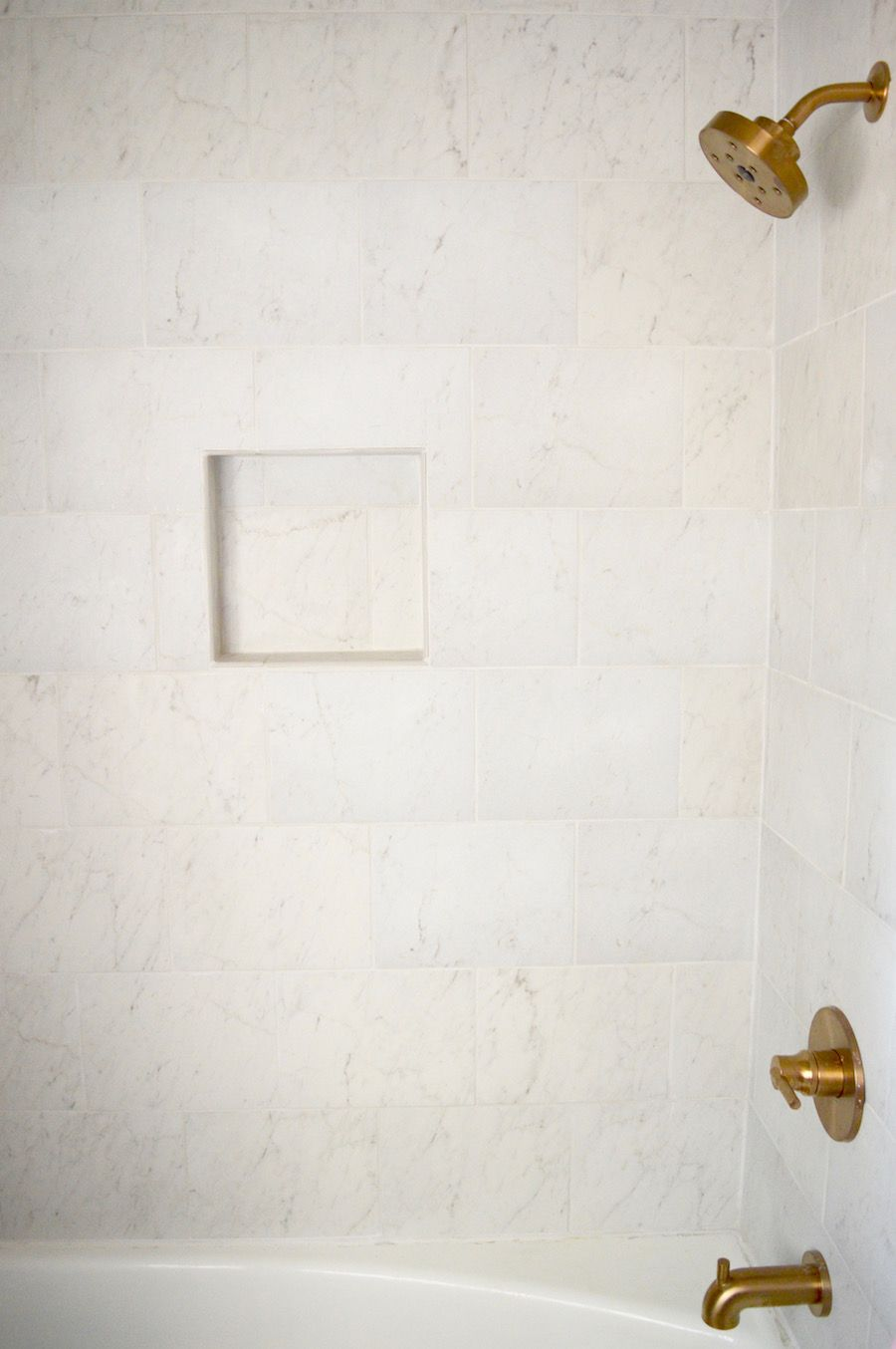 Style Selections Futuro White Porcelain Floor and Wall Tile (Common ...