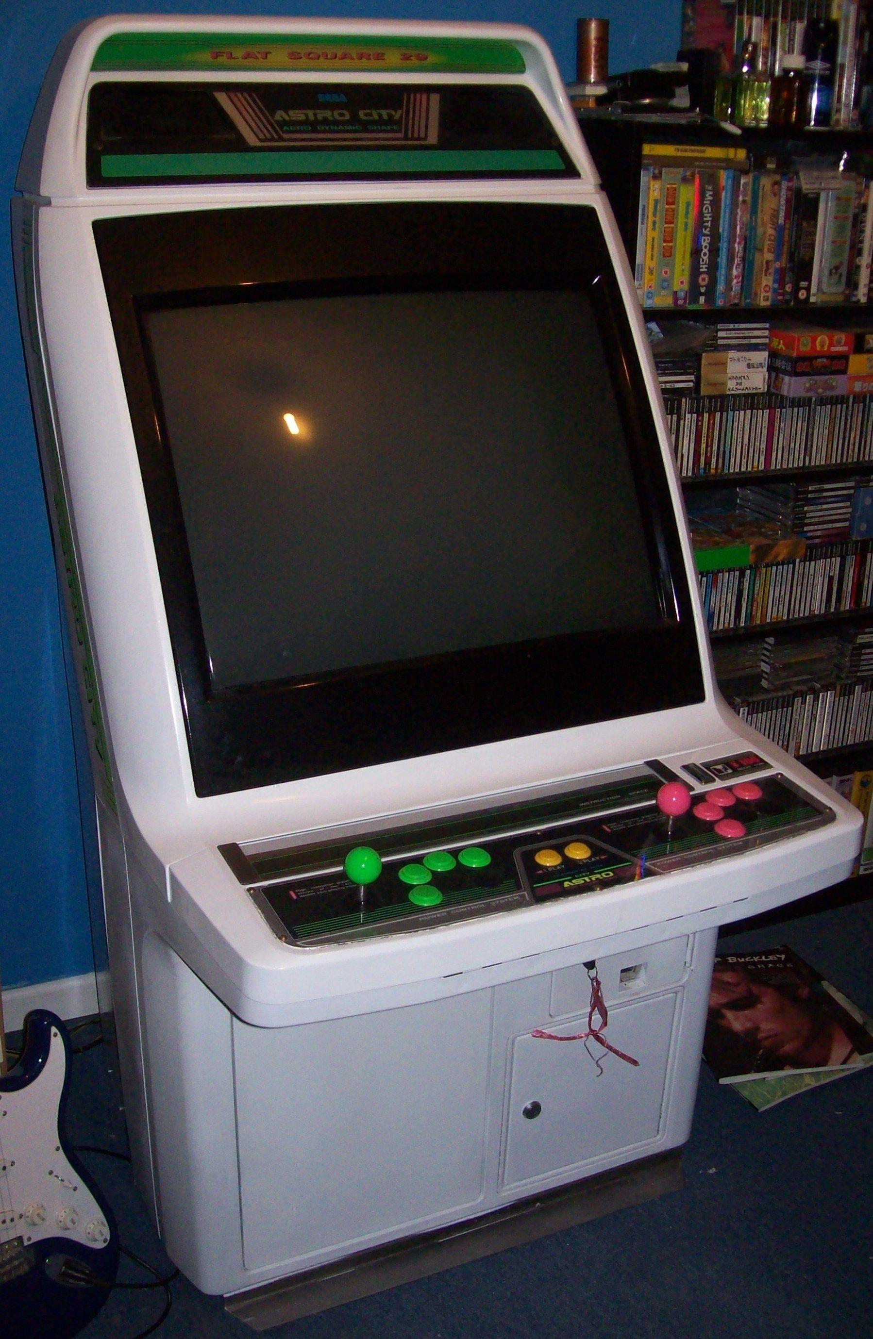 Sega Astro City Cabinet For St V And Naomi Jamma Boards