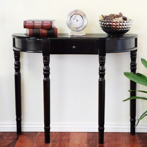 Mega Home Entry Way Console Table 29x36x11