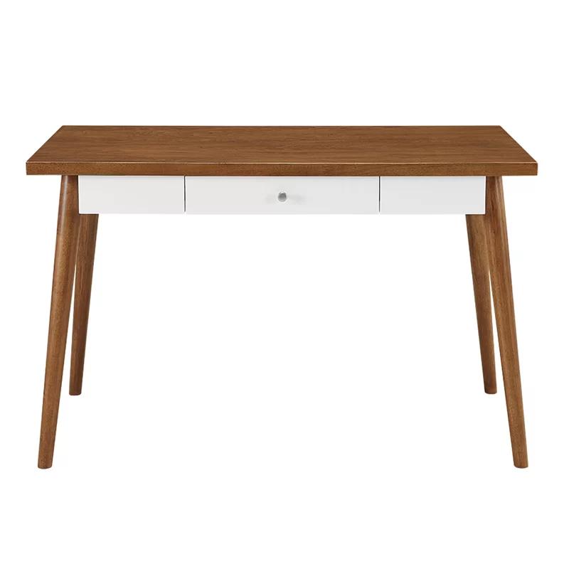 Gretchen Writing Desk Reviews Allmodern Solid Wood Writing Desk Contemporary Desk Office Furniture Modern