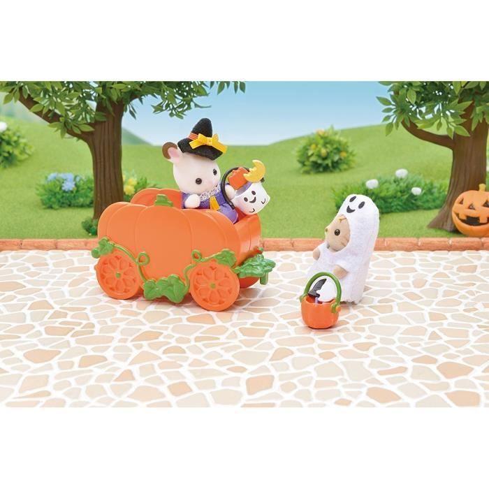 SYLVANIAN FAMILIES 5268 Set Halloween Sylvanian