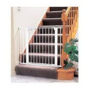 NO DRILL BABY GATE FOR STAIRS