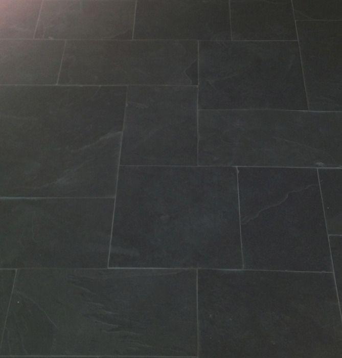 Brazilian Black Montauk Black Hampshire Cleft Slate Pattern Tile 1 Black Slate Tiles Slate Tile Slate Flooring