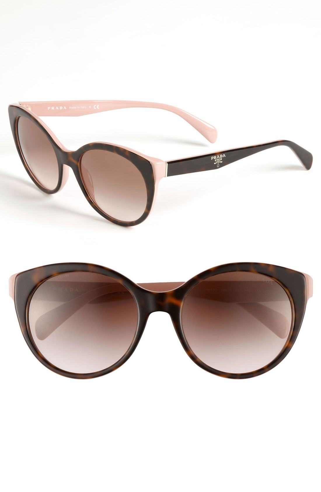 1d5f37e9e2bf6 I got these and they re beautiful...Prada Cat s Eye Sunglasses ...