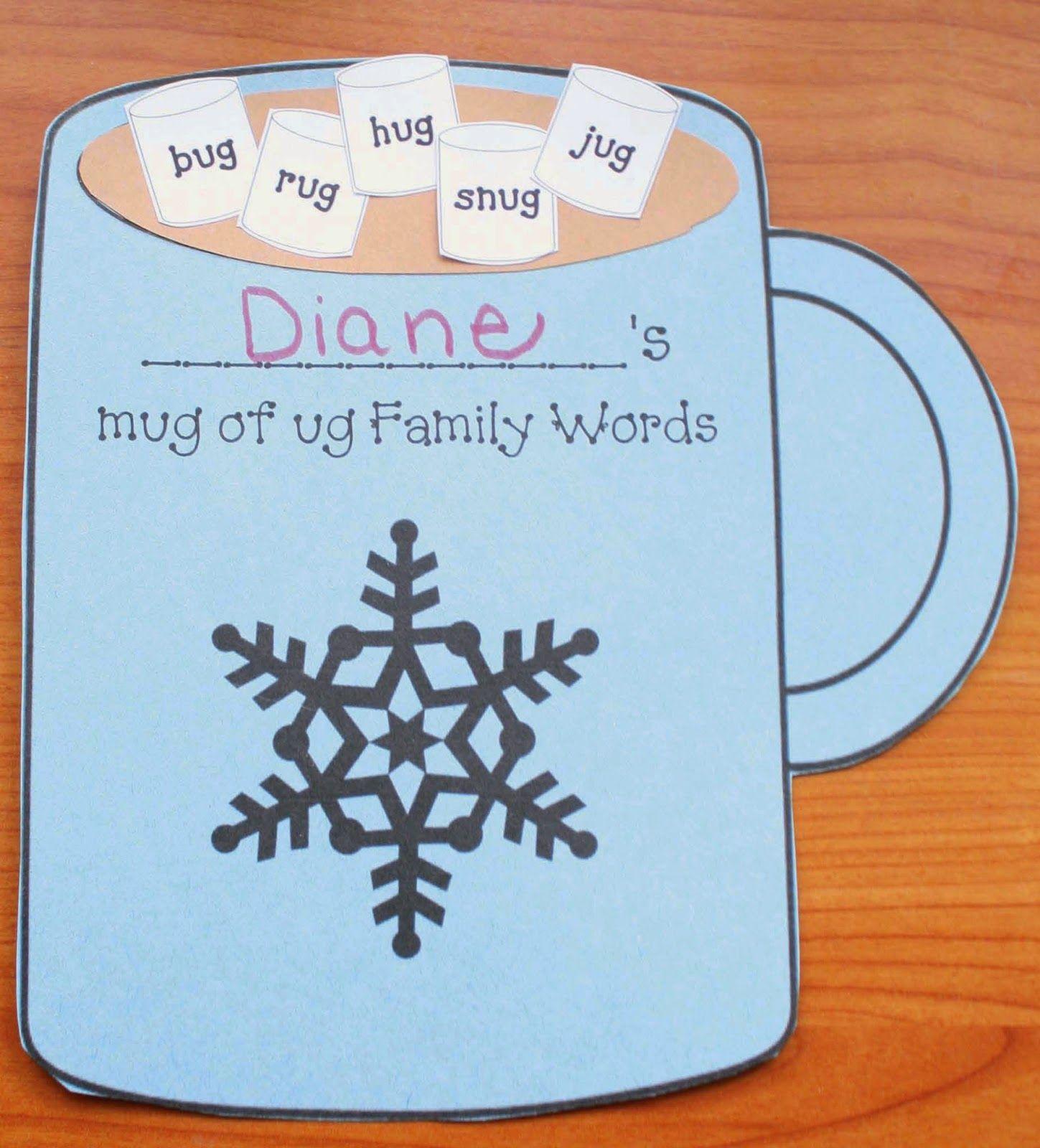 Ug Word Family Mug Packet