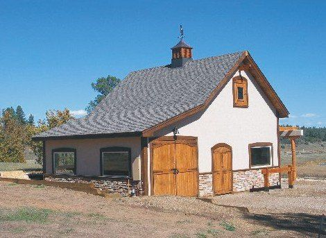 41 Small Barn Plans   Complete Pole Barn Construction Blueprints For Small Horse  Barns,