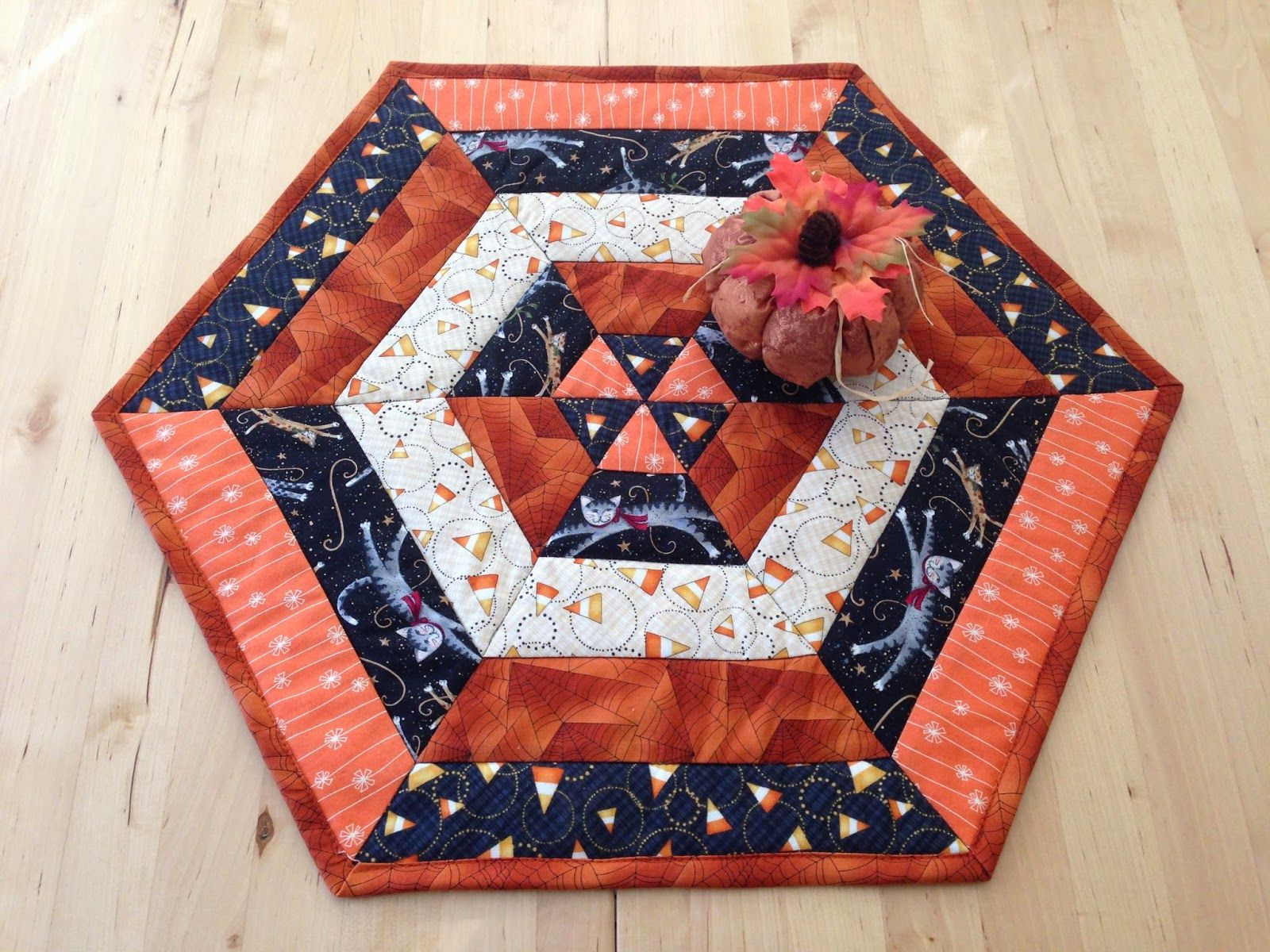 Candy Corn Table Topper is a Quick and Easy Project ...