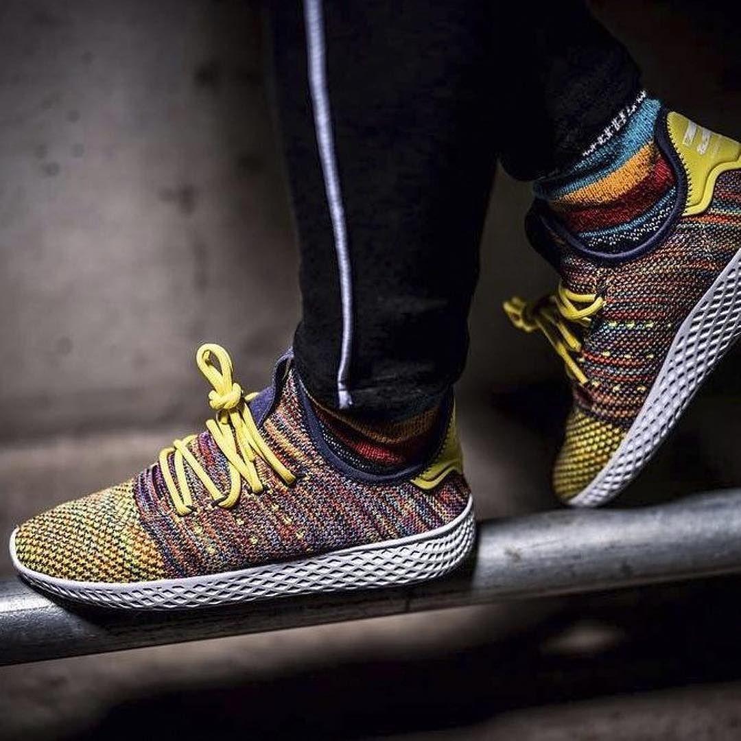 Pharrell Williams x adidas Hu Race Multicolor  sneakerprophet  .  pharell   hurace 68d0b6b4b036
