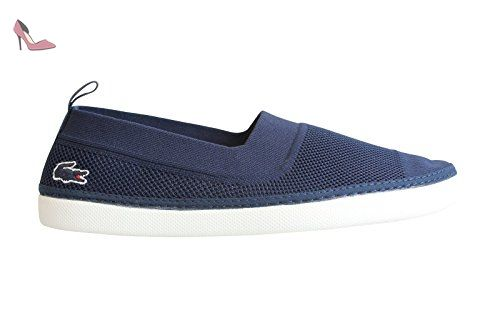 meilleure collection nouvelle qualité large choix de designs Lacoste Homme L.ydro 116 1 SPM Slip-On Shoes, Bleu, 42 ...