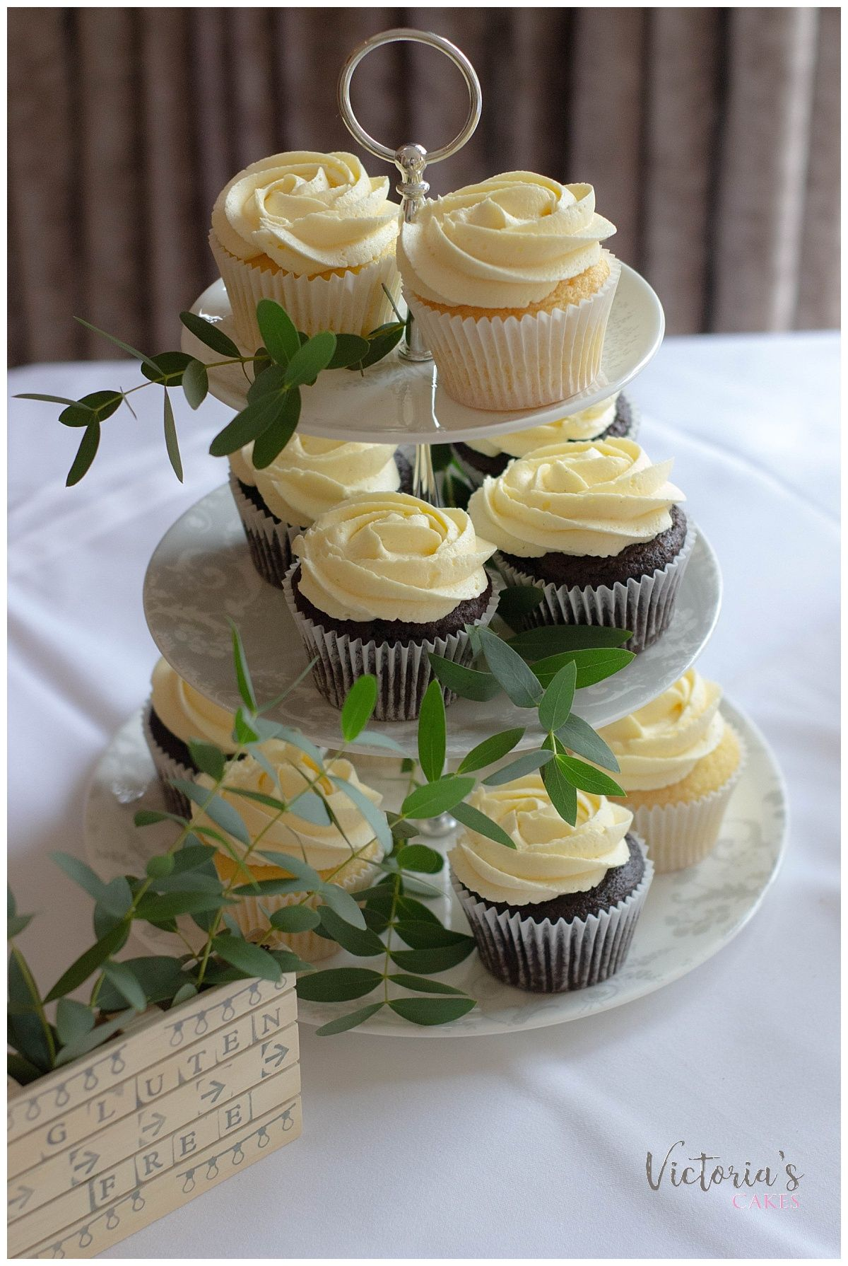 Gluten and dairy free wedding cupcakes victoria cakes