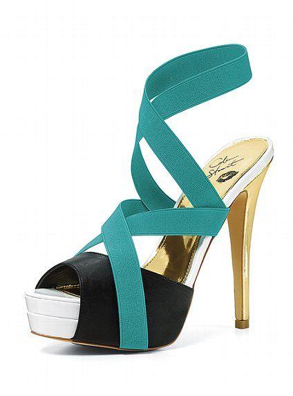464376545e02a5 Color-block Elastic Sandal - Colin Stuart® - Victoria s Secret