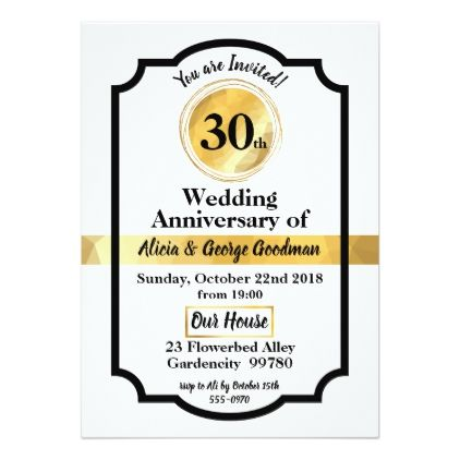 Wedding anniversary gold elegant invitation card wedding anniversary gold elegant invitation card wedding invitations cards custom invitation card design marriage party stopboris Image collections
