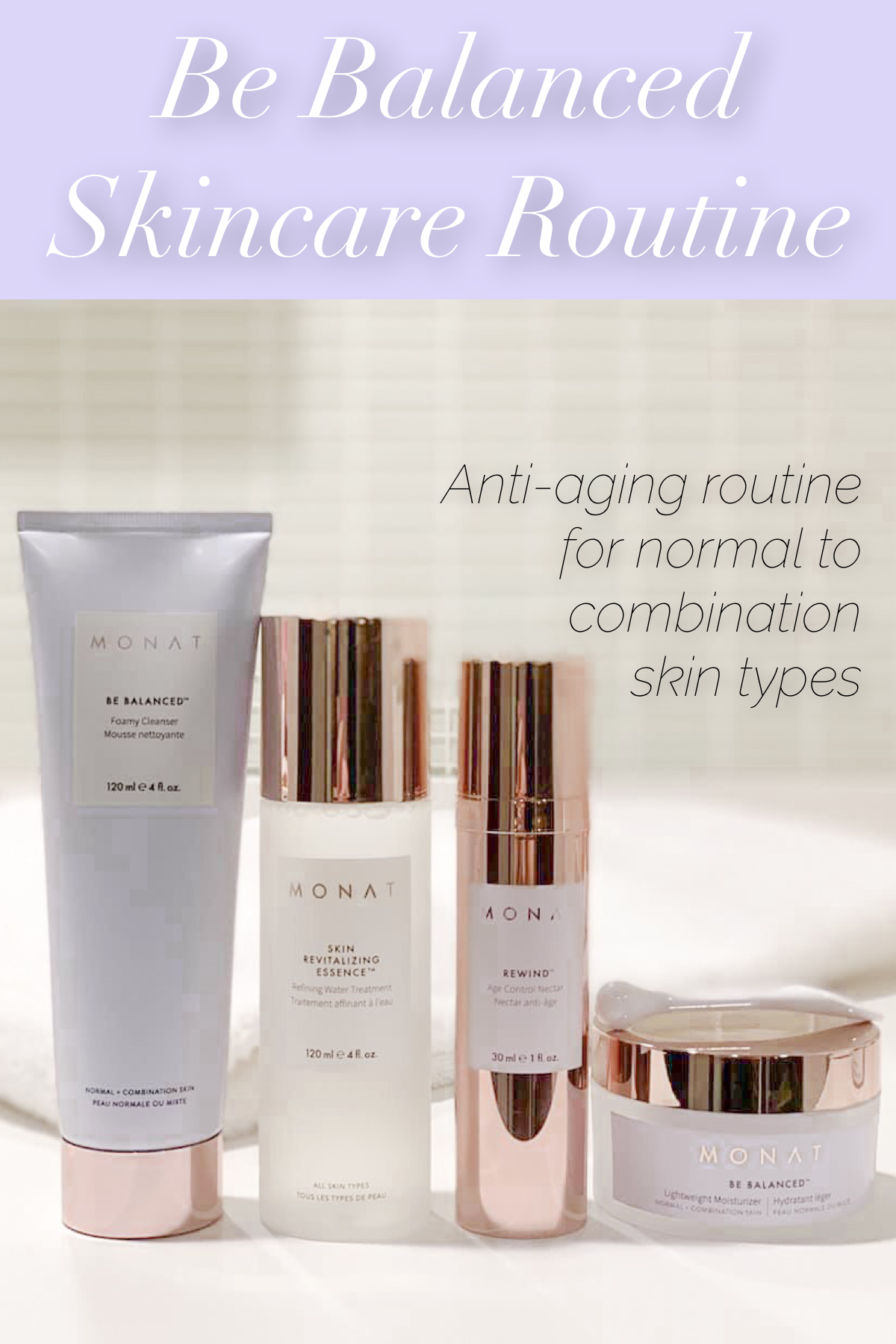 Be Balanced Routine Monat Skincare Skin Essence Combination Skin Routine Skin Care