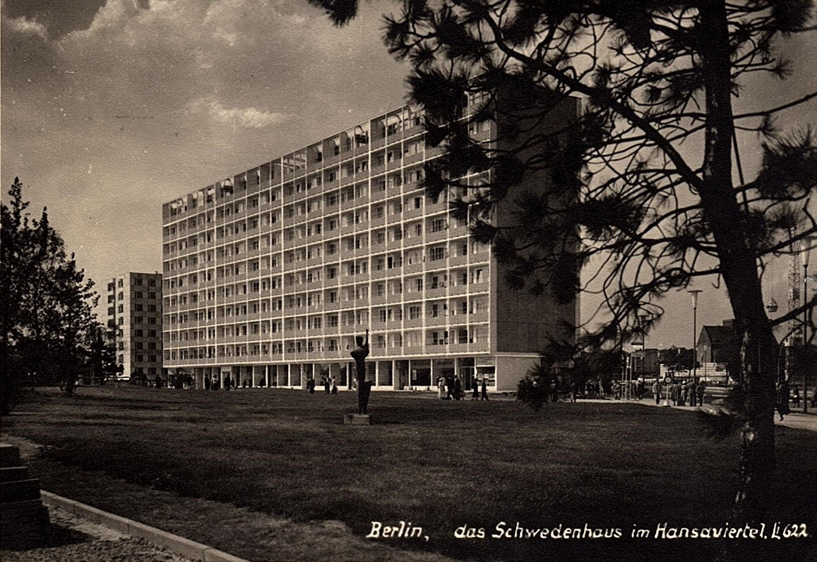 Schwedenhaus Berlin berlin tiergarten interbau 1957 das schwedenhaus im hansaviertel