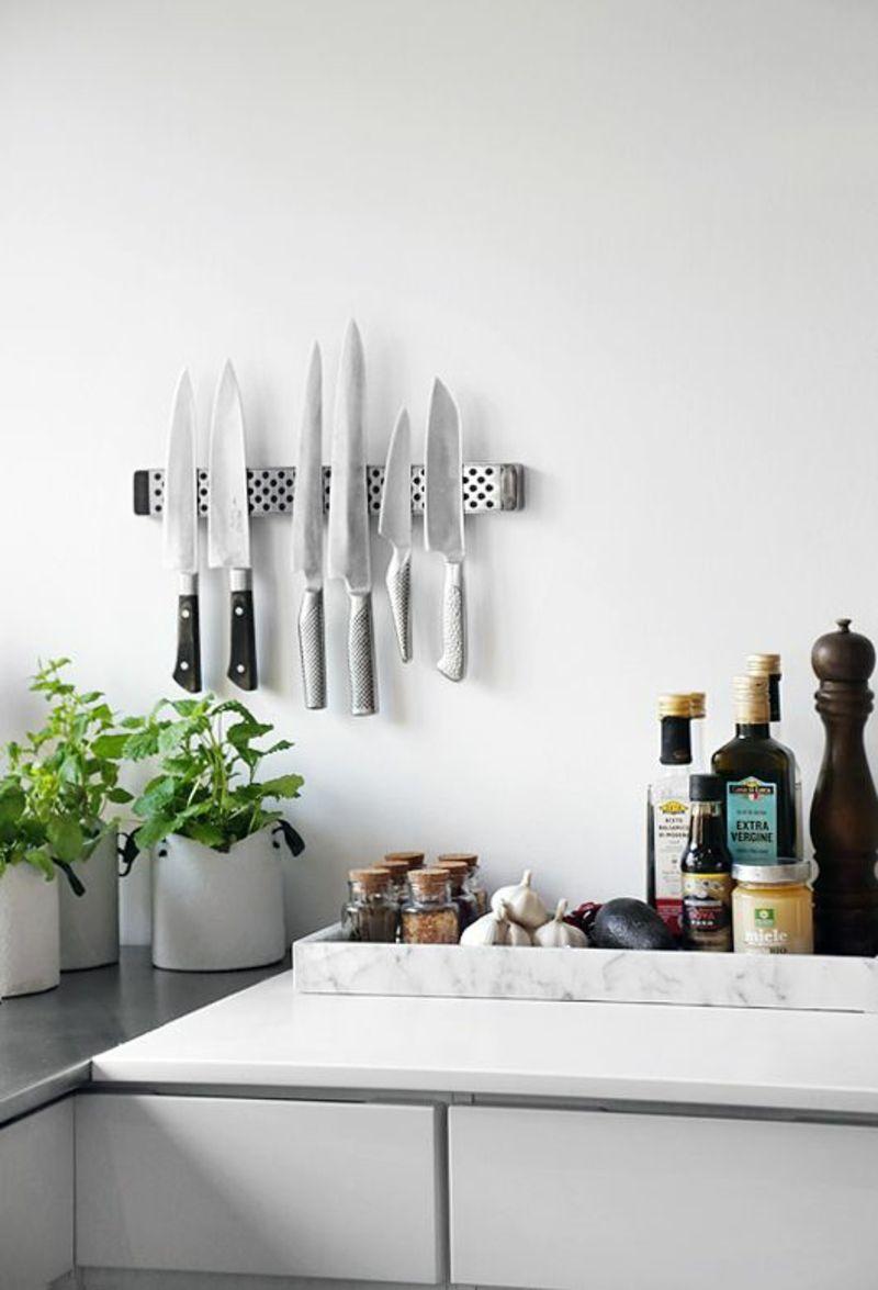 Magnetleiste für Messer selber bauen – Anleitung und Bilder