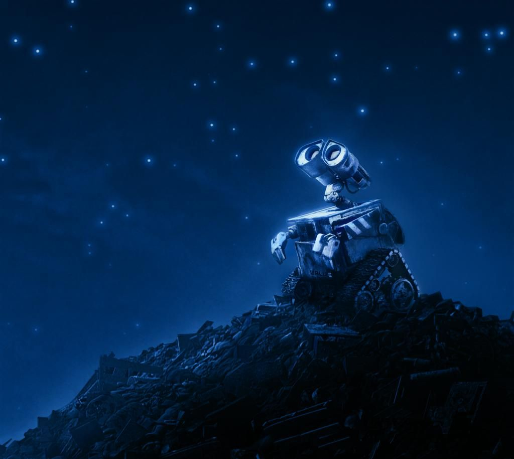 images of stars in the night sky | movies wall e sky night stars