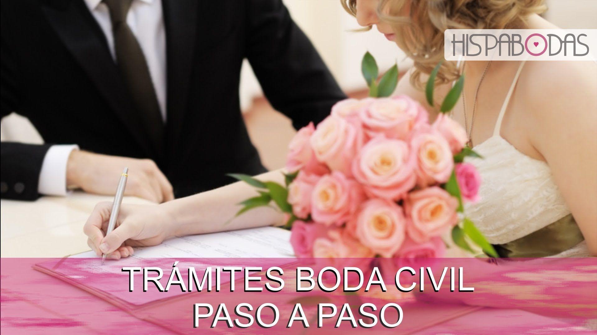 Trámites y papeles necesarios para un boda civil #HispaBodasTV #bodacivil
