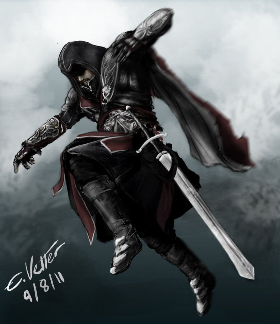 Ezio Auditore Da Firenze By Psycuror Deviantart Com