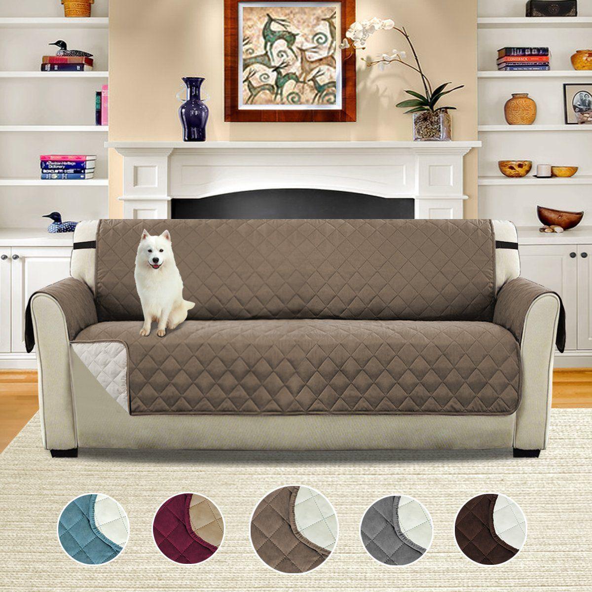 H Versailtex Pet Friendly Reversible Plush Faux Suede Furniture