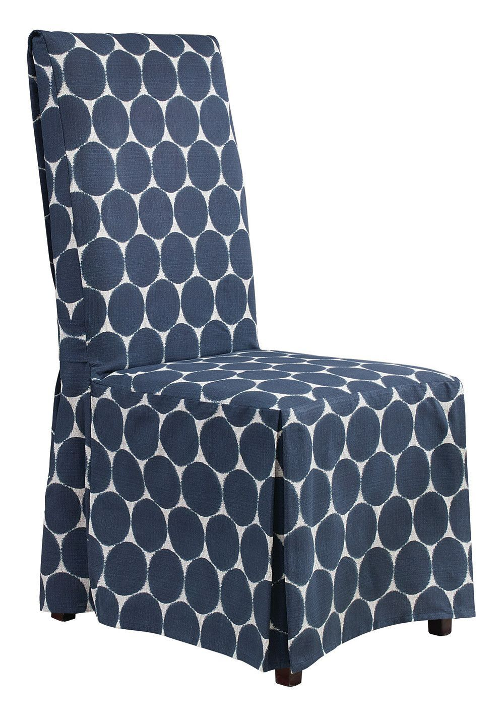 Ikat Parson Chair Skirted Slipcover (With images) Dining
