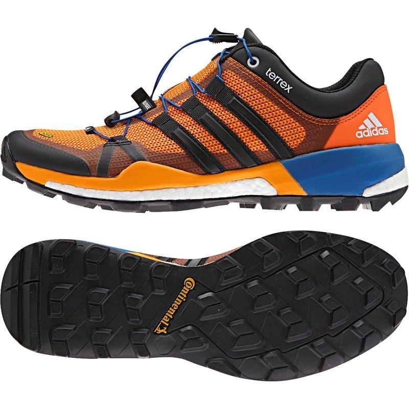 d156937772b4 Кроссовки мужские Adidas TERREX SKYCHASER EQTORA CBLACK ORANGE Adidas