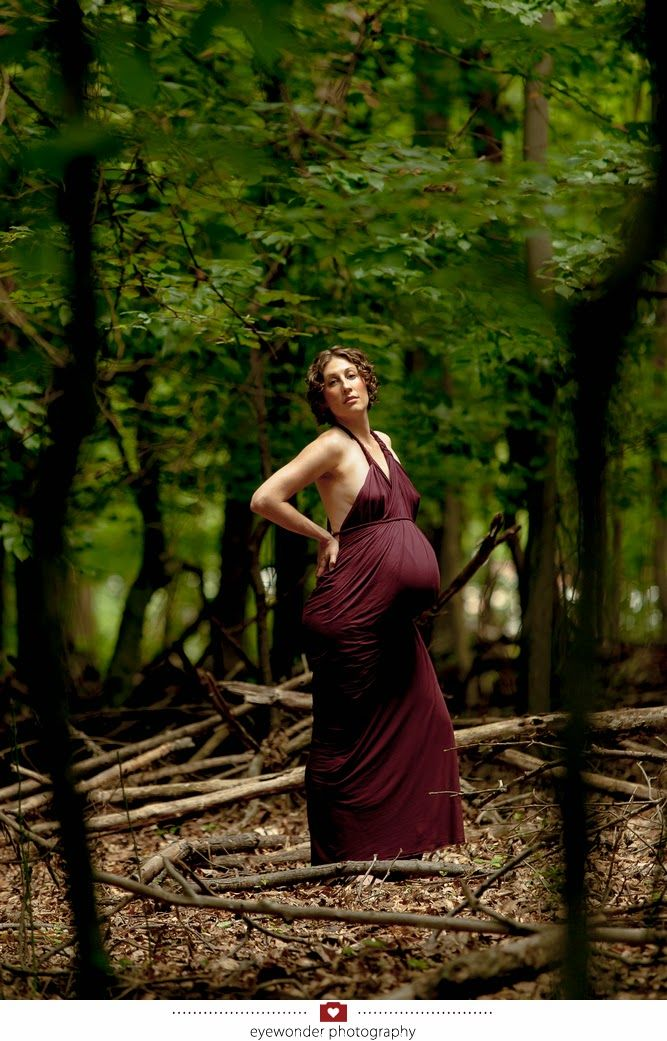660e561f7fa DIY No Sew Maternity Wrap Dress