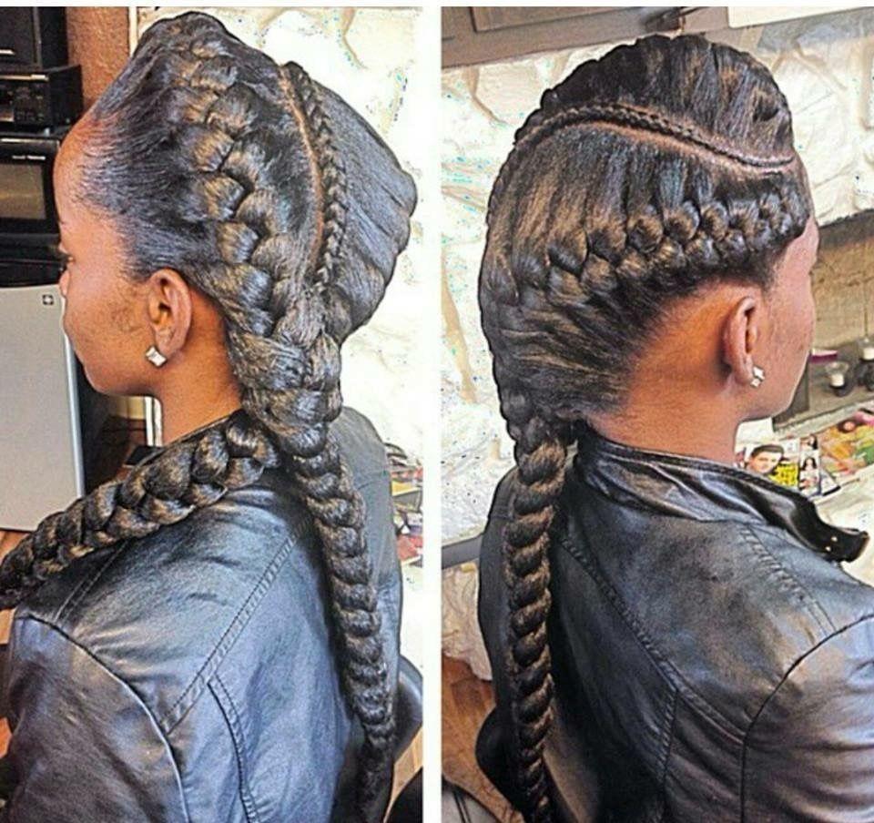 Populer 2 Goddess Braids With Weave Exemplebraids Hairstyles Braidshairstyles2020pictures Besthairstyles Braided Hair Styles Goddess Braids 2 Goddess Braids
