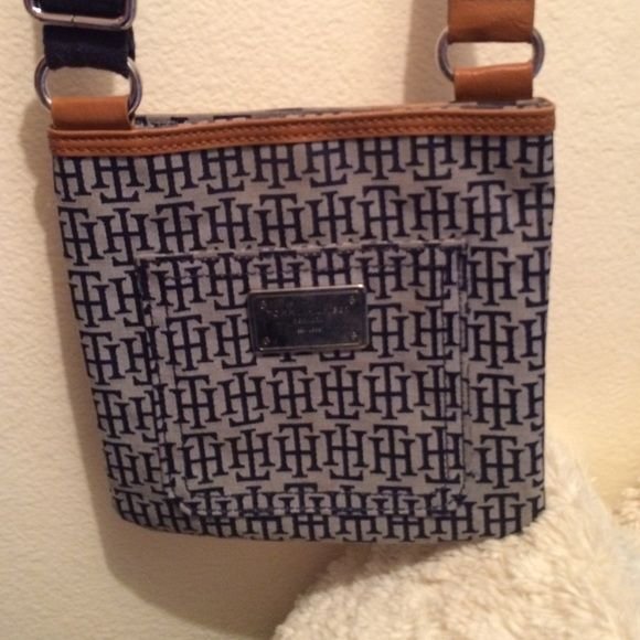 Tommy Hilfiger bag Blue cross body thick strap bag Tommy Hilfiger Bags Crossbody Bags