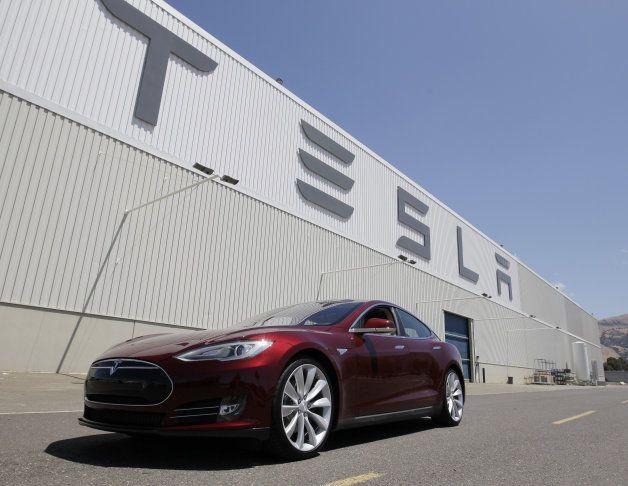 Yahoo Tesla Car Tesla Model S Tesla Motors Model S
