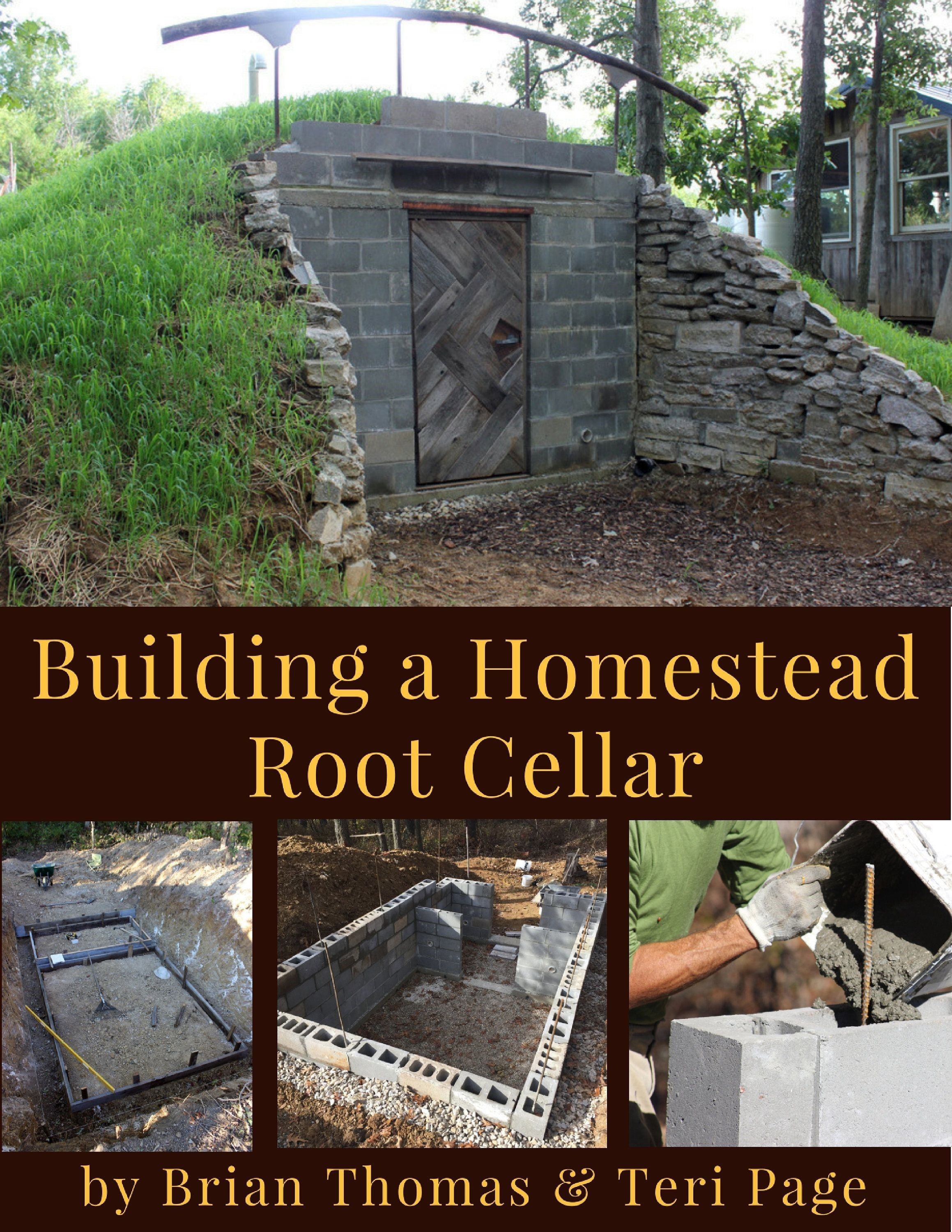 Building a homestead root cellar ebook etsy with images