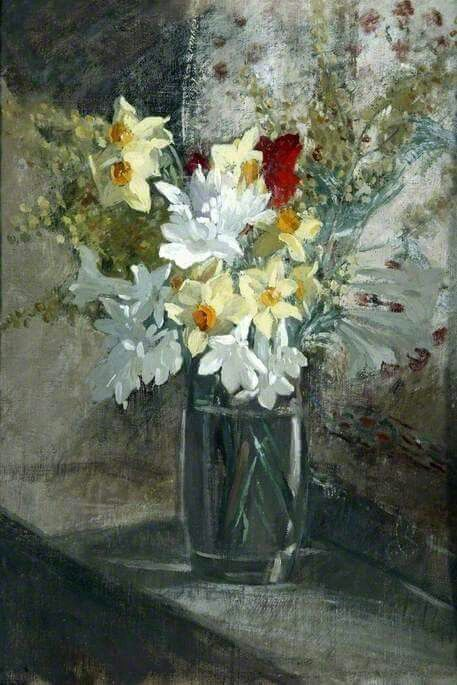 Flowers by Philip Connard (1875-1958)