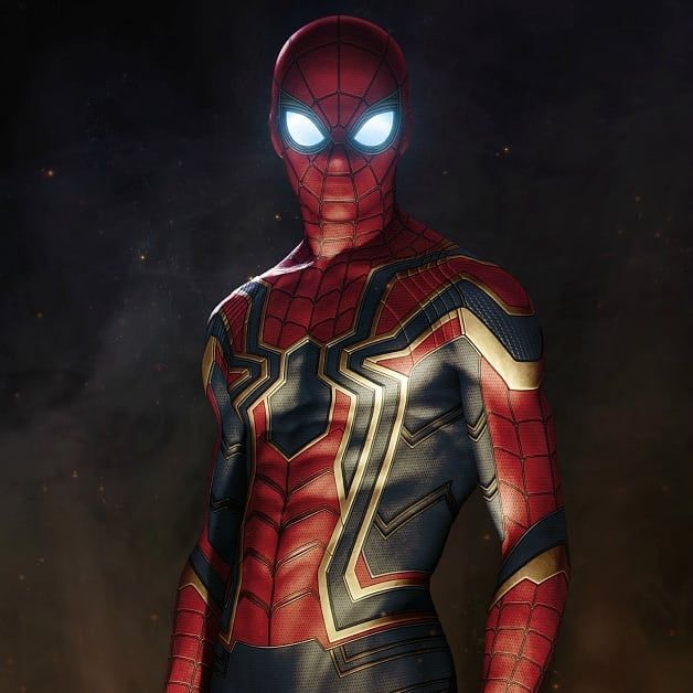 Love The New Spiderman Look For Avengers Infinity War Iron Spider Armor Avengers Infinity War Fan Art By Sany Lebedev Superhero Spiderman Marvel Spiderman