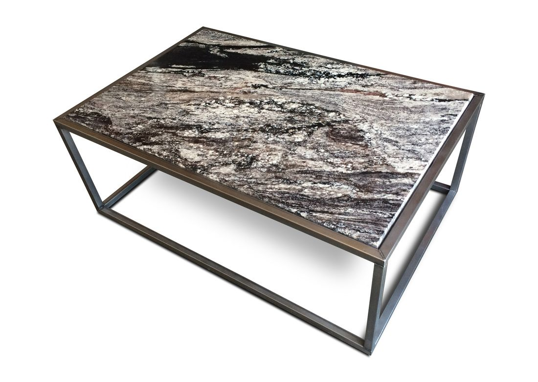 Furniture: Artistic Home With Granite Table Use Granite On Top And The  Stake Using Wood