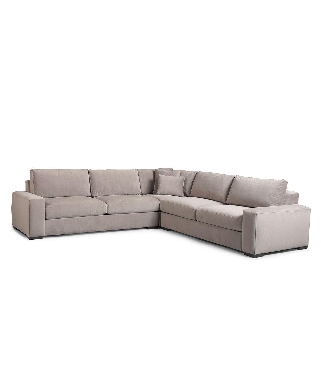 Cool Keira Sectional Sofa 3 Piece Corner Unit Left Arm Facing Machost Co Dining Chair Design Ideas Machostcouk