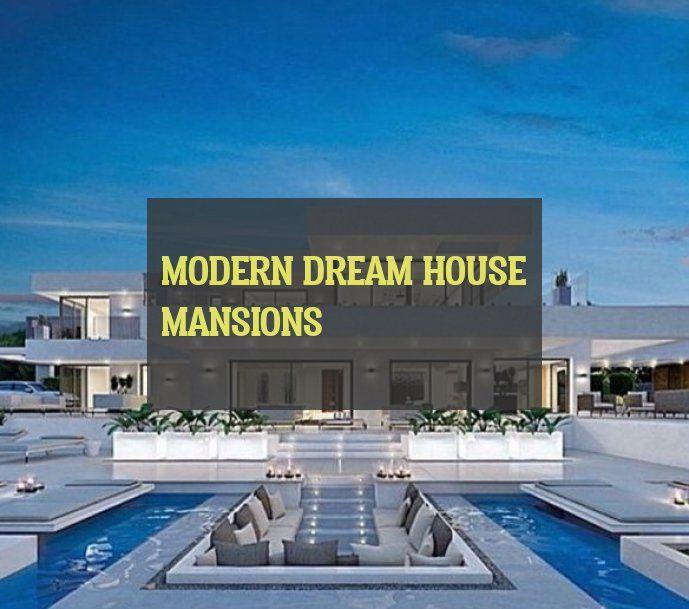 Modern Dream House Mansions Moderne Traumhausvillen