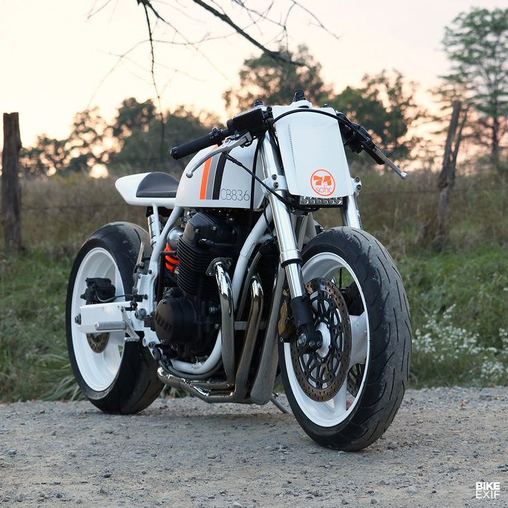 White Hot Turning A Rusty Honda CB750 Into Cafe Racer