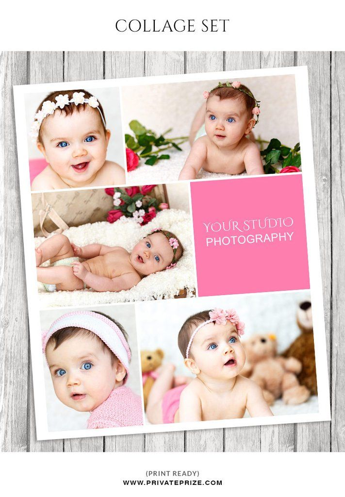 Baby Photo Collage Template Story Board Photo Collage Template Baby Photo Collages Photo Collage