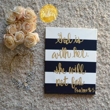 Diy Canvas Bible Verse