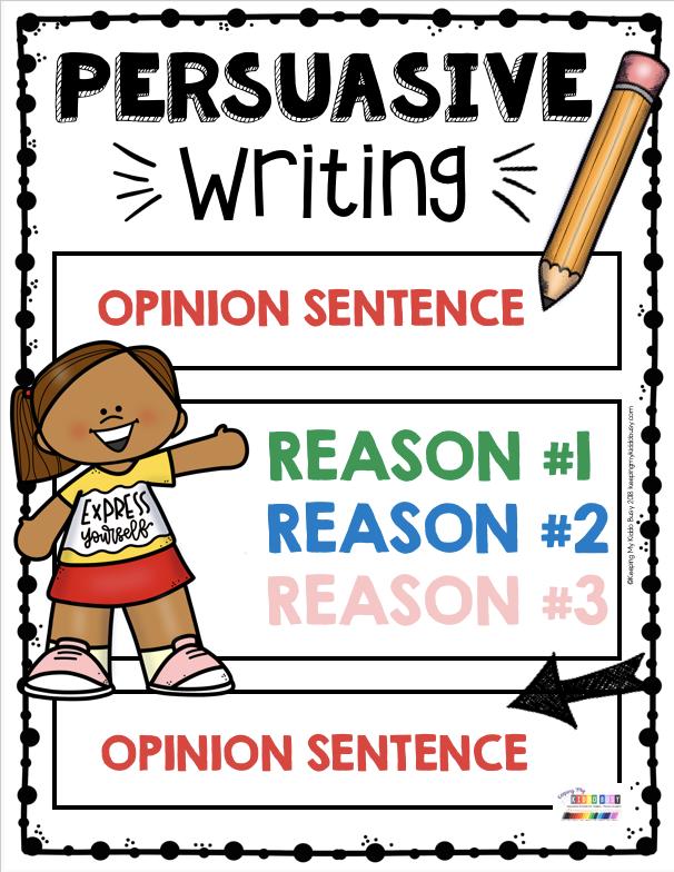 Persuasive Writing Unit 7 Free Activities Keeping My Kiddo Busy Persuasive Writing Persuasive Writing Anchor Chart Persuasive Writing Activities