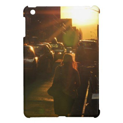 Sunset Girl iPad Mini Covers -nature diy customize sprecial design