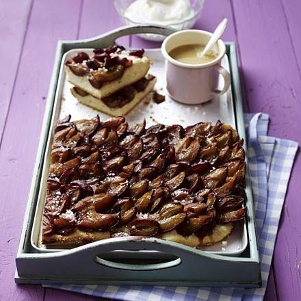 Pflaumenkuchen vom Blech (Diabetiker) Rezept | LECKER